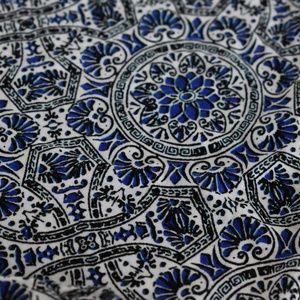 Cynthia Rowley Skirts - Cynthia Rowley Blue White Black Print Maxi Skirt S